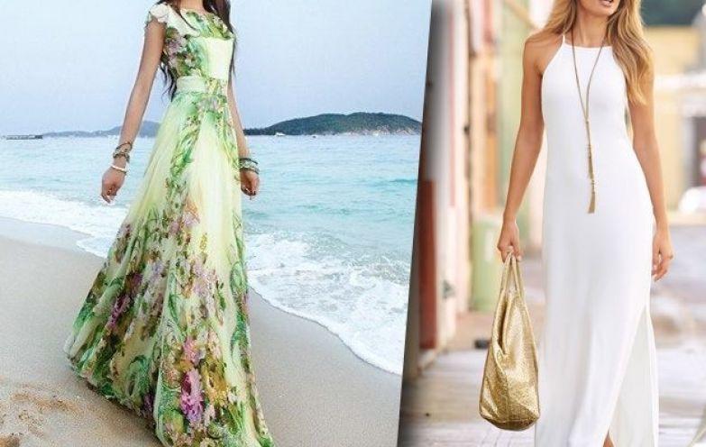 Прекрасный выбор на лето: 15 очаровательных длинных платьев.