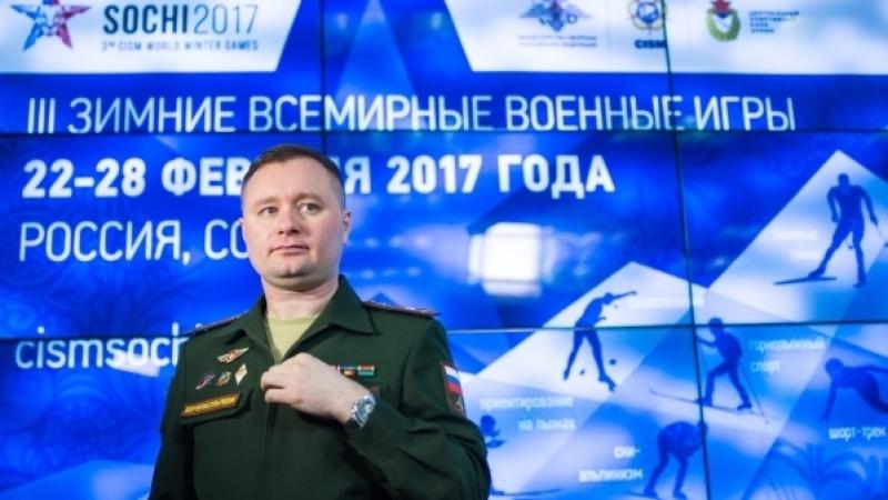 Глава ЦСКА Михаил Барышев организует эстафету огня на Всемирных военных играх