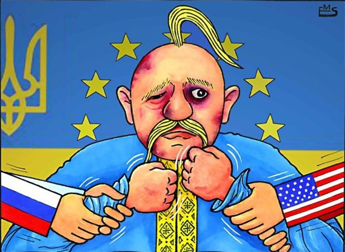 Украина побила нас политичес…