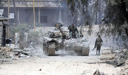 Генштаб: в сирийский город Дума вводится российская военная полиция