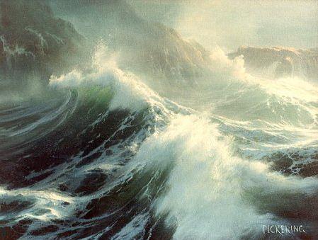 Байрон Пикеринг и его живописное море.