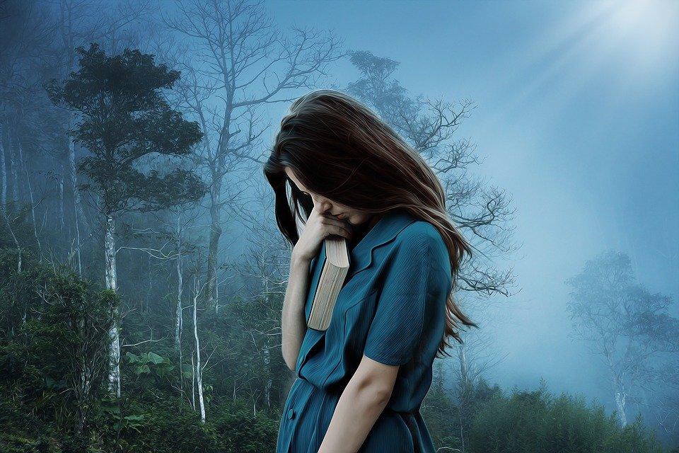 Девочка, Грусть, Одиночество, Печальный, Депрессия
