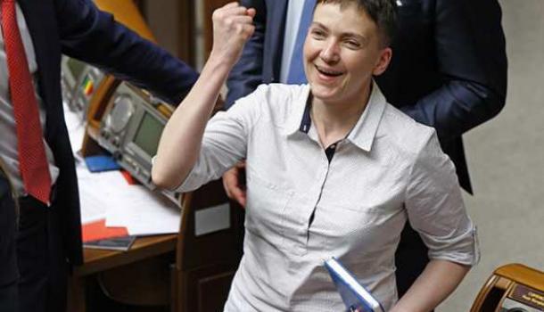 «И будем бороться с империализмом»: Савченко предложила дружить сРоссией против США
