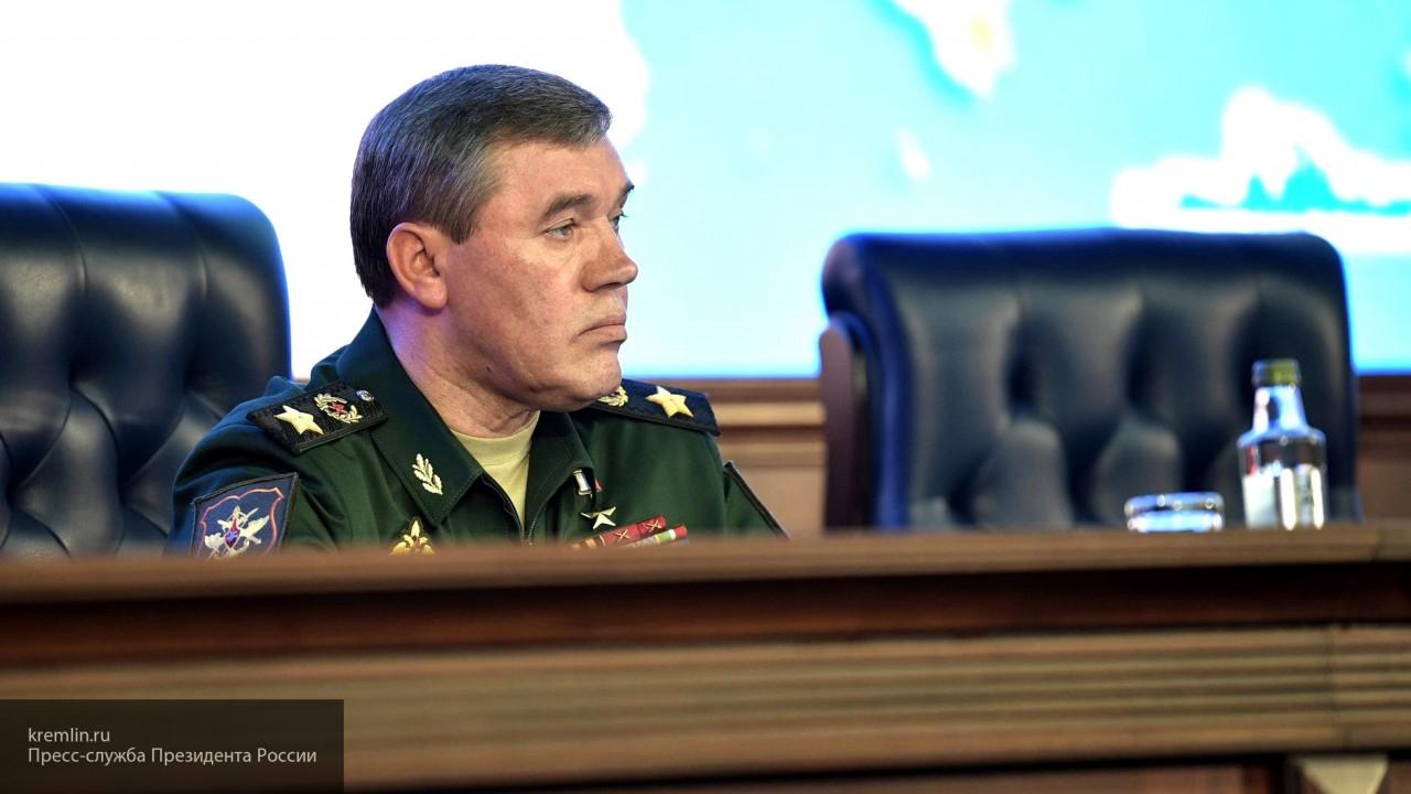 Глава Генштаба РФ призвал ко…