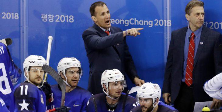 NYP: разъярённый тренер сборной США по хоккею не подал руки российскому коллеге