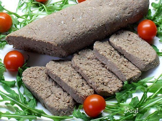 Паштет-колбаса из печени