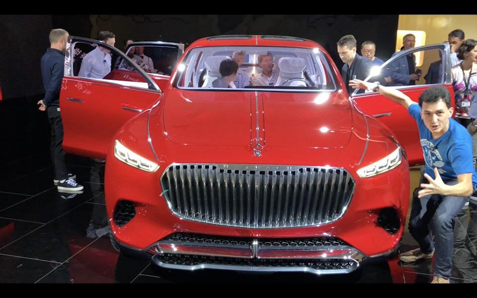Эксклюзив из Пекина — Мерседес шокировал автомир, срастив седан и внедорожник!