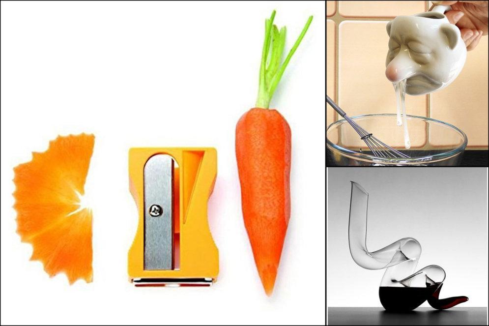 Точилка для морковки и еще 2…