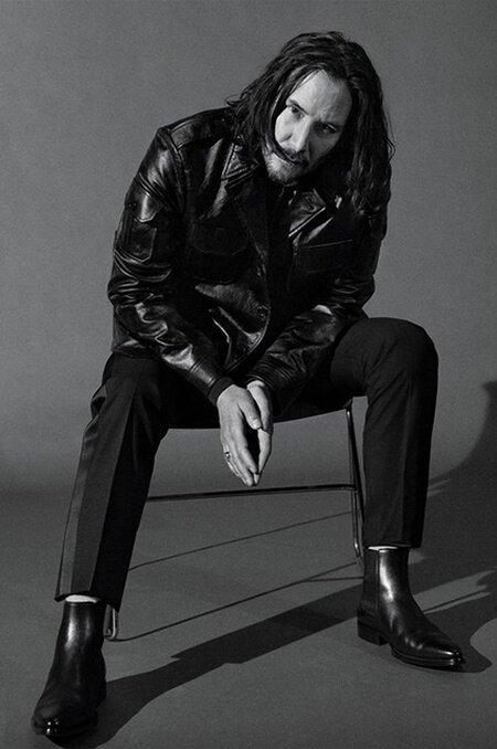 Киану Ривз впервые за долгое время сделал фотосессию Киану, Ривз, мода, нео, фото