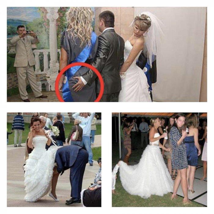 Угарные фото со свадеб