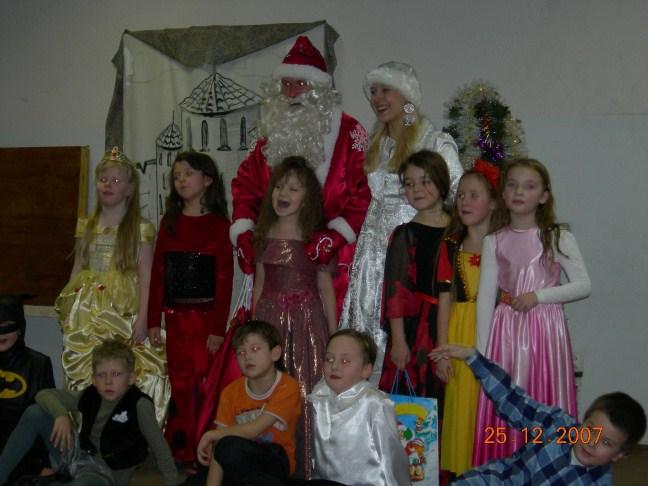 Дед Мороз и Снегурочка в школу и детский сад. В Москве и Подмосковье на Новый 2011 год.
