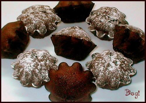 Кексы с жидким шоколадом