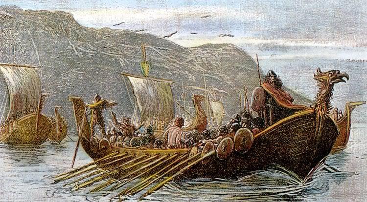 Скандинавские морские разбойники в IX–X вв.