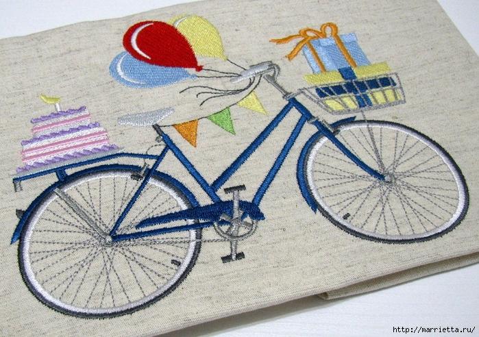 Вышиваем велосипед. Идеи со схемами (28) (700x492, 353Kb)