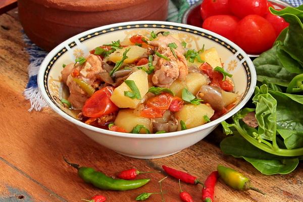 чанахи с курицей по-грузински рецепт с фото