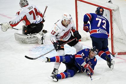 СКА побил рекорд КХЛ по количеству шайб в одном регулярном чемпионате