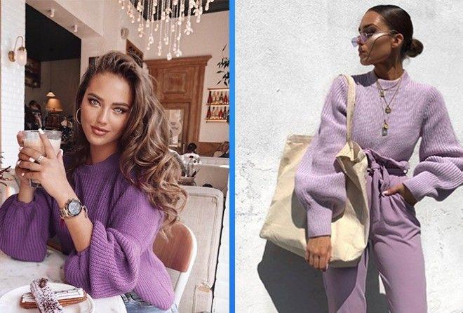 Вот как нужно носить фиолетовый!