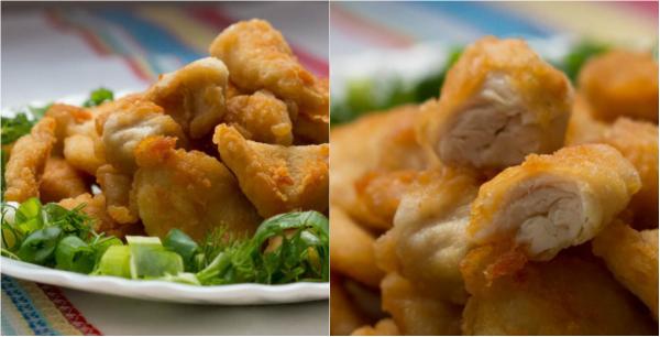 Рецепт наггетсов из курицы с фото простые и вкусные