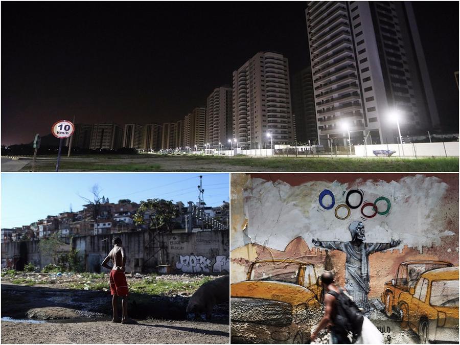 Олимпийские объекты Рио-де-Жанейро через год после окончания Игр