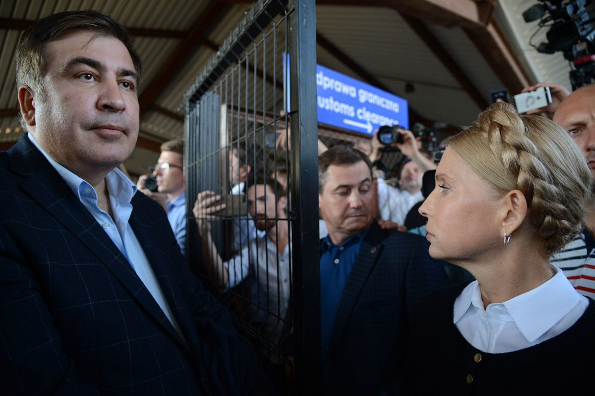 Саакашвили ебутся с тимошенко