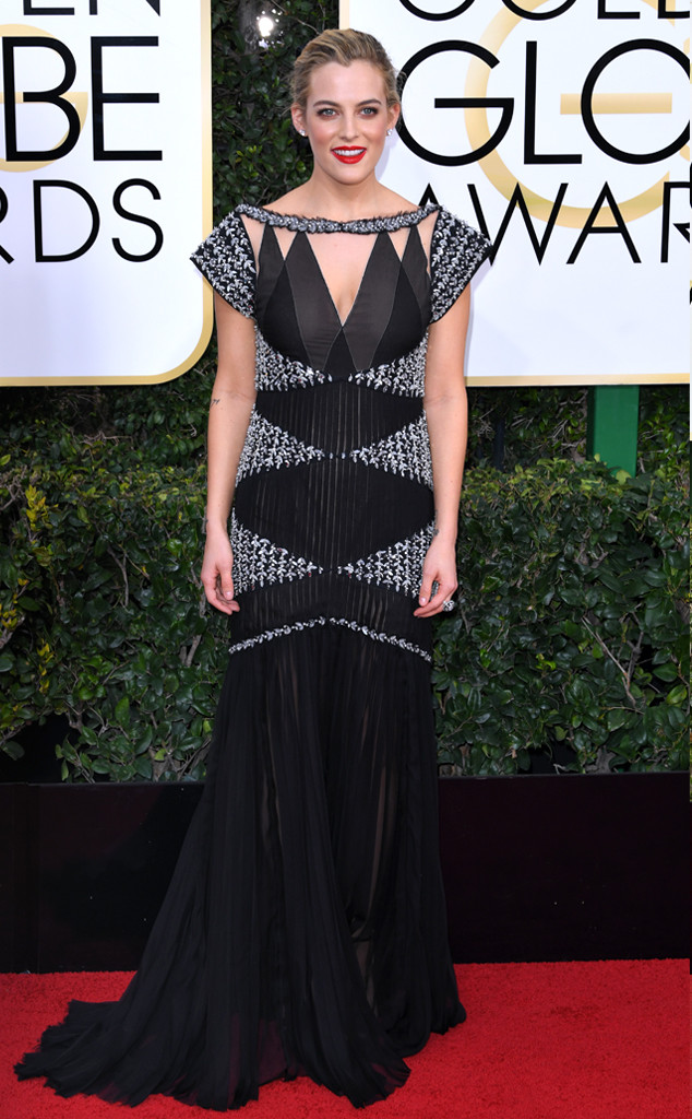 Riley Keough Golden Globes 2017