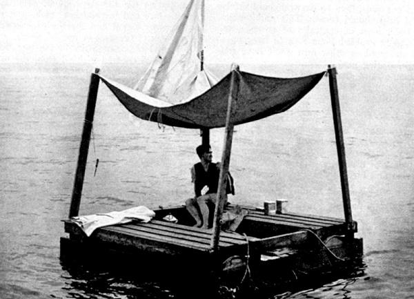 Фантастический рекорд Линь Пэна: как на плоту выжить 133 дня в открытом океане