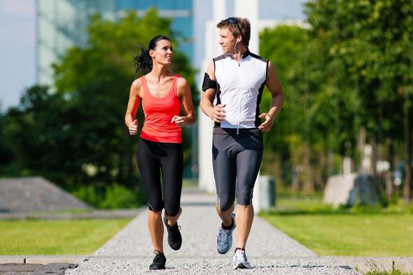 Пробежка помогает понизить давление