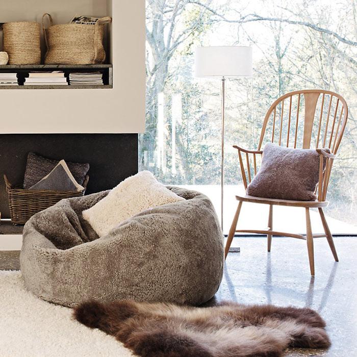 5 способов сделать зимний интерьер чуточку теплее