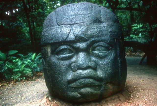 Теория о существовании цивилизации «ольмеков»
