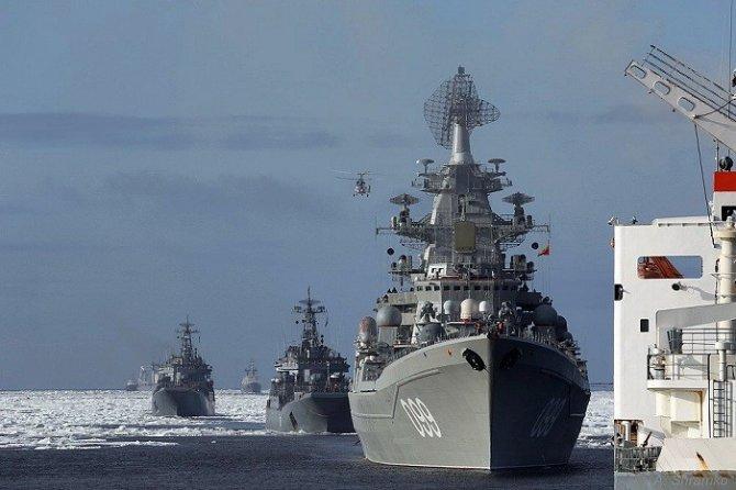 Помощь России в Сирии: подмога идёт с моря