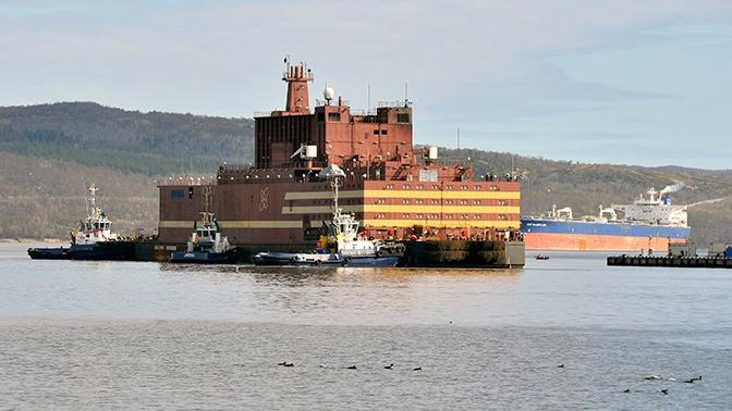 В России успешно испытали первый в мире плавучий атомный реактор