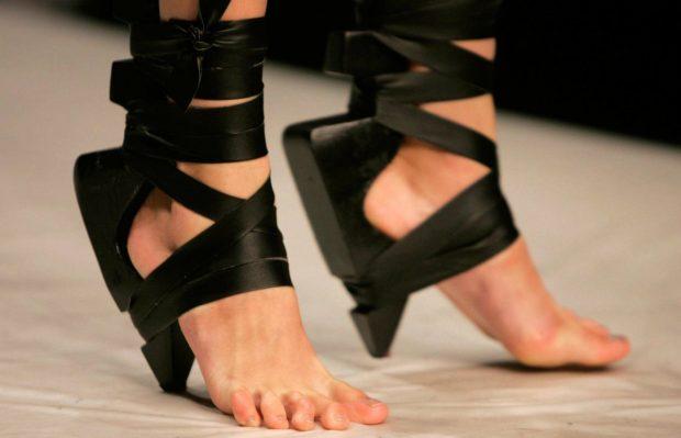 Обувь без подошвы