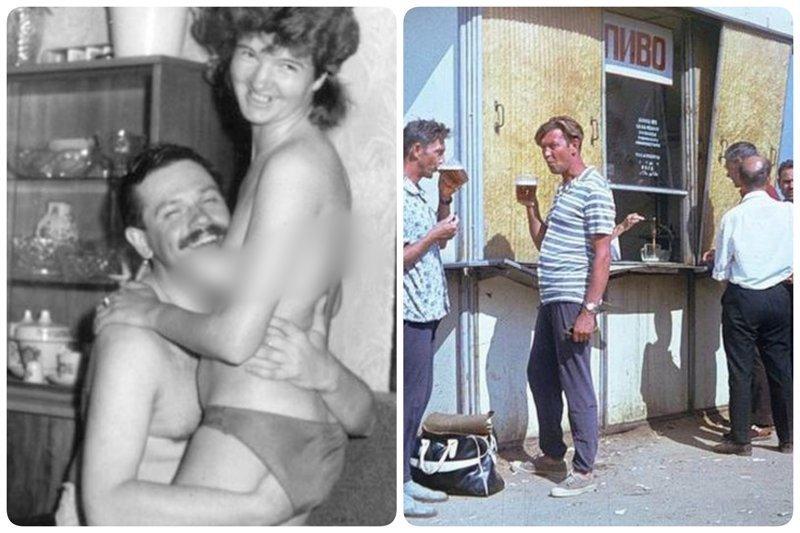 Как развлекались мужчины в СССР