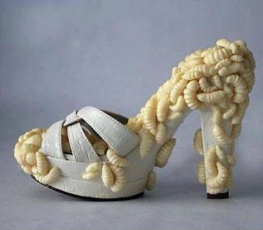 Туфли-личинки