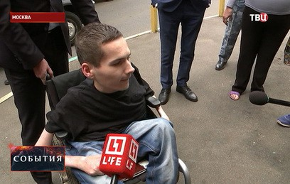 Осужденный за разбой инвалид Мамаев вернулся из СИЗО домой