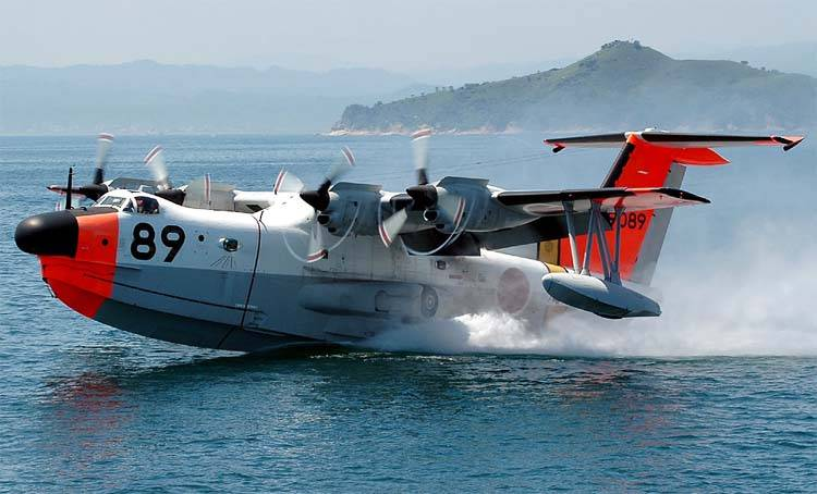Поисково-спасательный гидросамолёт «Син Мэива» US-1 (Япония)