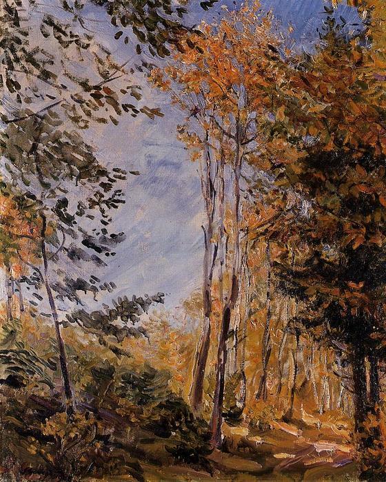 Max Slevogt. Herbstwald.1906