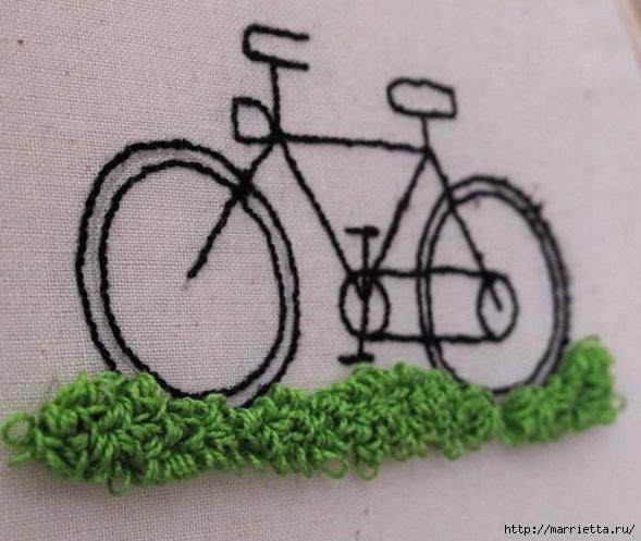 Вышиваем велосипед. Идеи со схемами (39) (589x497, 180Kb)