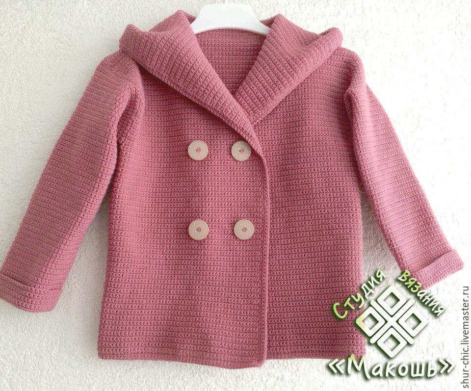 Мастер-класс: как связать детское пальто