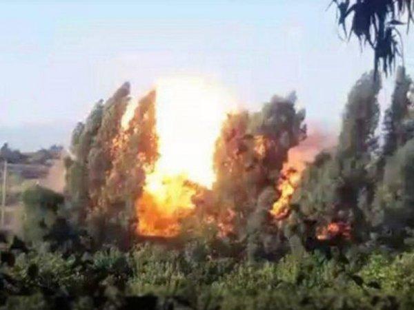 Сирийские партизаны нанесли …