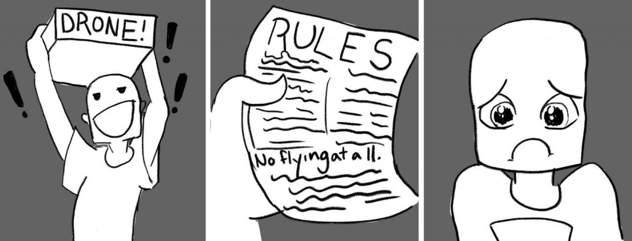 Правила использования беспилотников препятствуют инвестициям