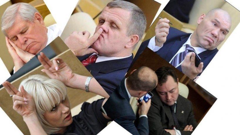 В Госдуме один депутат хотел засунуть палец в ухо другому
