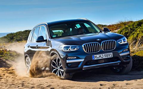Новый BMW X3 - тест первого кроссовера на платформе CLAR