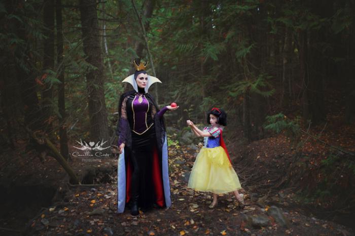 Семилетняя девочка и её мама создают потрясающий косплей на полюбившихся персонажей