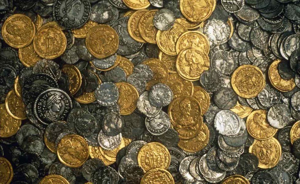 Монеты клад mansden - интернет журнал.