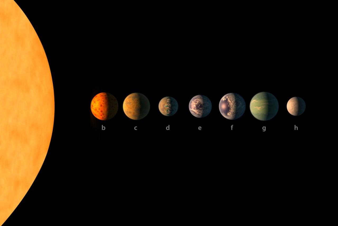 Возле ультрахолодного красного карлика нашли 3 землеподобные планеты с океанами