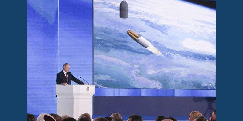 Гиперзвуковой ливень Путина …