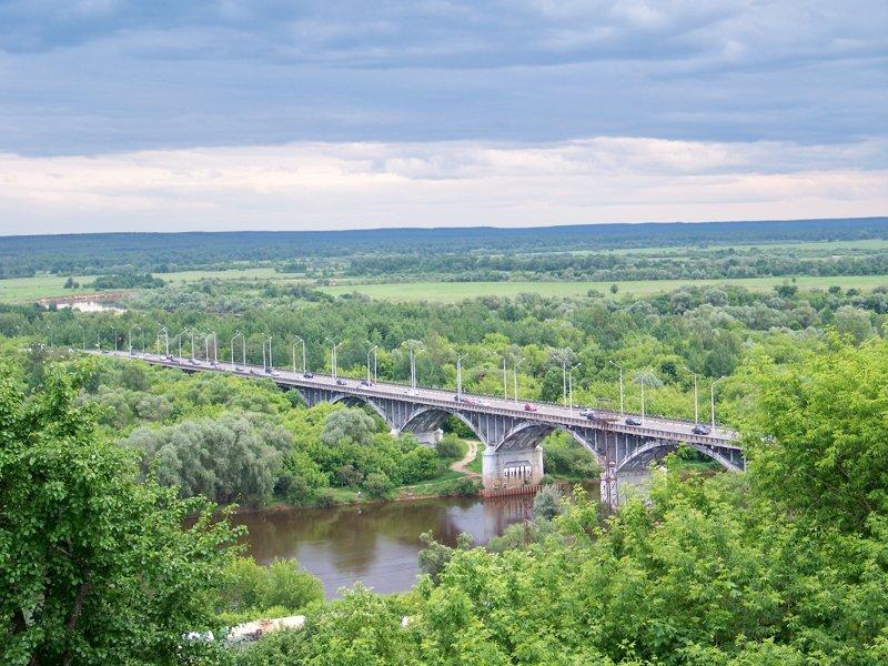 Мост через Клязьму Города России, владимир, владимирская область, красивые места, пейзажи, путешествия, россия