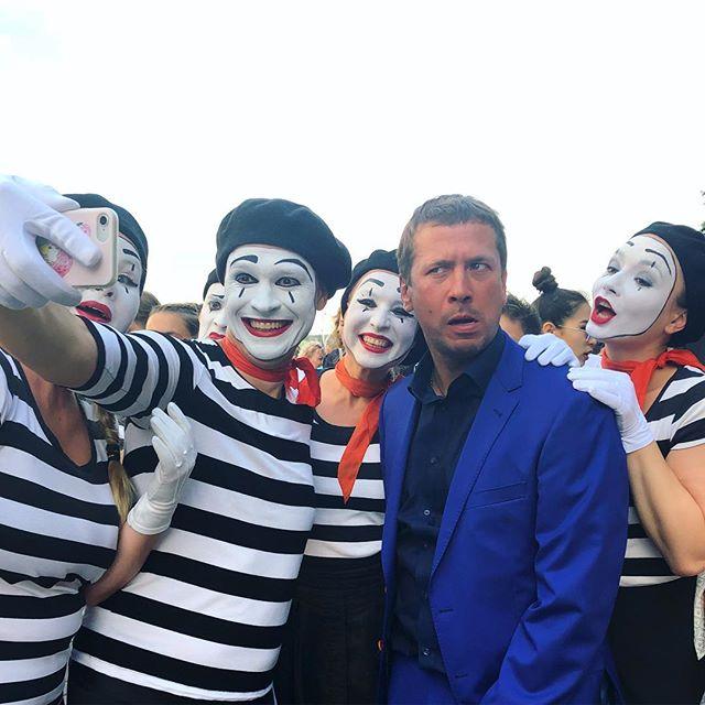 Андрей Мерзликин и клоуны