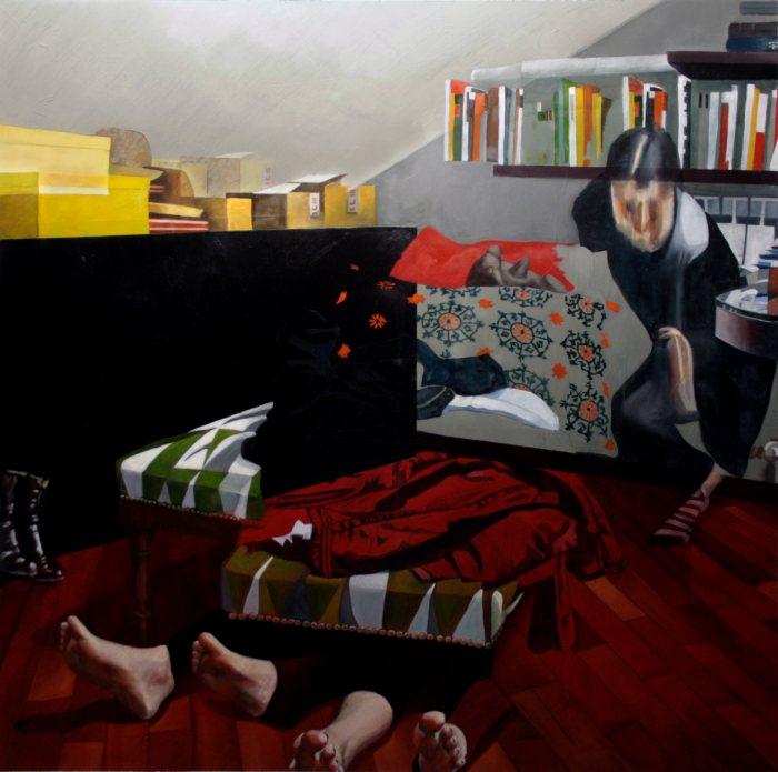 Итальянский художник. Dario Maglionico